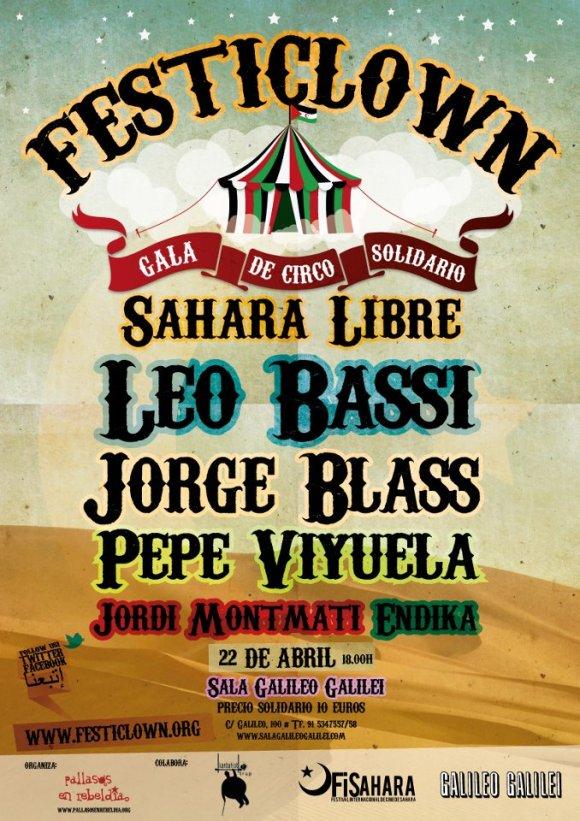 Gala Festiclown Solidaria por el Sahara