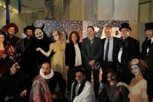 Presentación de los Carnavales 2014 en el Ayuntamiento de Madrid