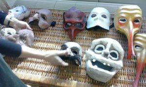 Máscaras de Morboria teatro