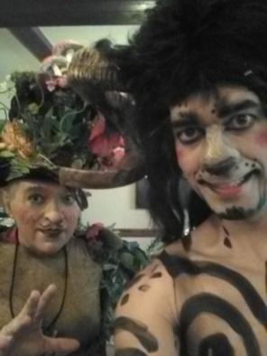 """Seres del bosque"" con Morboria teatro"