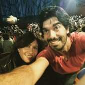 Actor español en Colombia- con Carmen Cossio estreno musical Chavela