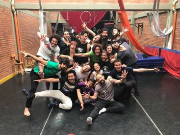 Curso de Impro en Monkeyfest- Actor español en Colombia
