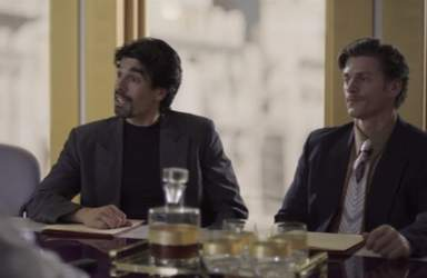 En Luis Miguel, la serie (Netflix y Telemundo)